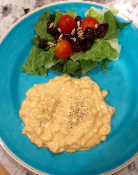 macarrones con queso en olla de cocción lenta (slowcooker)